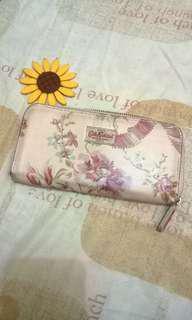 Cath kidston wallet (pastel pink)