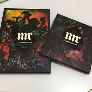 Mr 演唱會 CD+DVD+親筆簽名