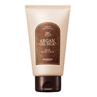 Argan Oil Silk Hair Mask Pack 200g