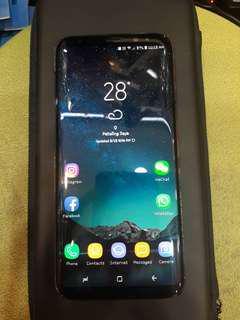 Samsung S8 Plus midnight black