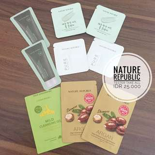 Nature Republic Tester Take all