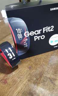 Samsung Gear Fit2 Pro (serviced with new battery and warranty)