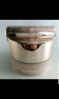 Sale-Clarins Skin Illusion Loose Powder Foundation (105 Nude)