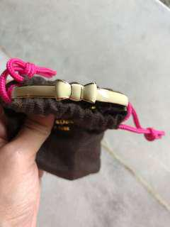 Original Kate spade bangles ( white )