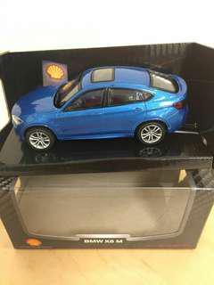 Mainan mobil koleksi Shell BMW X6 M