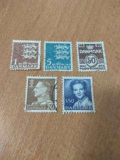 Stamps: Denmark