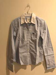 Abercrombie Fitch blue shirt