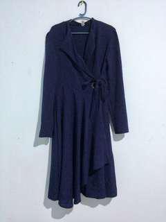 Korean Style Wrap Dress