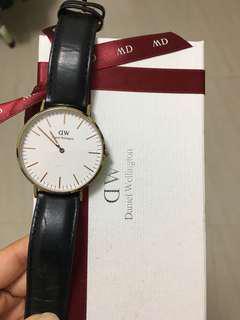 Daniel Wellington 手錶 DW 38mm
