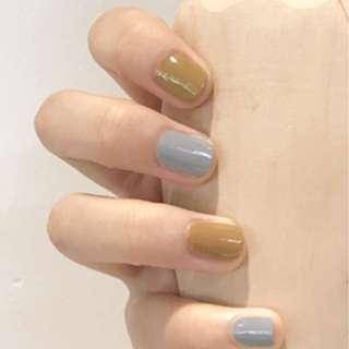 全新淺藍指甲油,夏日風,易乾好查色靚。