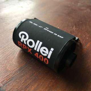 🚚 【菲林空間】Rollei RPX  ISO400  35mm黑白底片36張(分裝片)