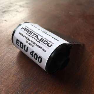 🚚 【菲林空間】Arista EDU ISO400  35mm黑白底片(36張分裝片)