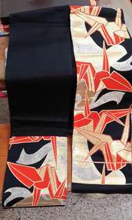 🚚 【西陣織物~帶袋】日本和服腰帶(茶席桌布)