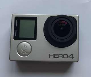 GoPro HERO 4 sliver