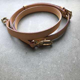 PREORDER: vachetta lv leather straps speedy