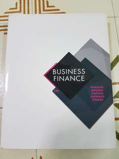 Business Finance 12th edition - McGraw Hill