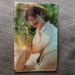 EXO Kai Lenticular Card (Nature Republic)