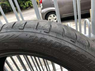Bridgestone RFT 225/45 R18 secondhand tyre