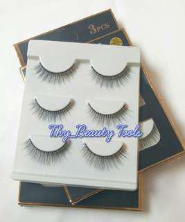 Premium Handmade Eyelashes 1set/3pcs