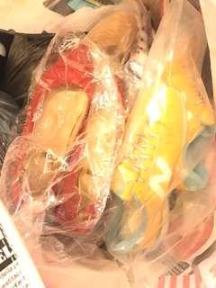 鞋福袋6對 $588 波鞋平底鞋高爭鞋 nike / new balance / 韓國鞋 / 日本鞋等等