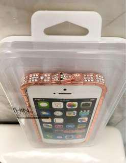 Rose Gold iPhone rim case