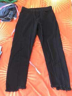 [2 FOR $14] Black boyfriend jeans