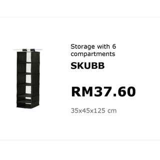 Preloved IKEA Storage SKUBB