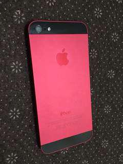 Iphone5 64gb red