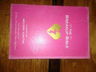 The break up bible by Melissa Kantor
