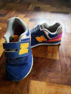 Authentic New Balance 574 kids rubber shoes