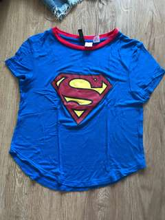 H&M divided Superman top