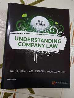 Understanding Company Law 18th - Thomson Reuters