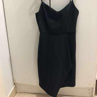 Kookai black mini dress