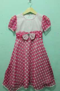Pink Dots Dress
