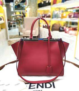 Fendi 3Jours Vitello Bag ❤BIG SALE P75k ONLY❤ Slightly used. Good as new! Bought at P140k  With dustbag cards and strap Swipe for detailed pics  Cash/card/layaway accepted  #luxonlinephfendi