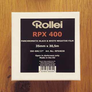 🚚 【菲林空間】Rollei RPX ISO400  35mm黑白底片(100呎)