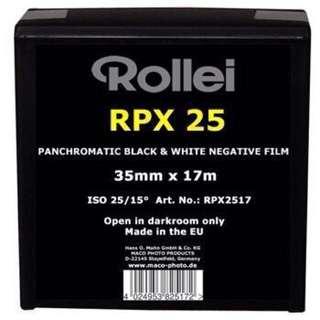 🚚 【菲林空間】Rollei RPX ISO25  35mm黑白底片(50呎)