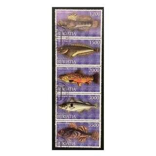 Buriatia Republica 紀念郵票一套