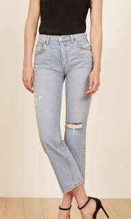 Reformation Danny mid relaxed jean