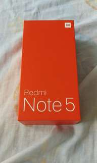 BOX ONLY Xiaomi Redmi Note 5