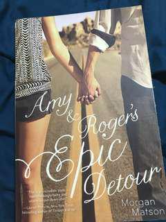 YA Book: Amy & Roger's Epic Detour