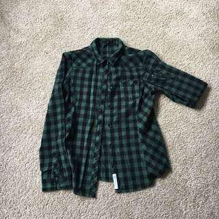 Ugiz Womens Checkered Shirt