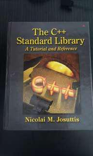 C++ Standard Library NUS CS #SpringCleanAndCarouSell50