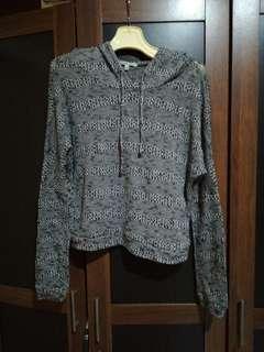Sweater knit grey