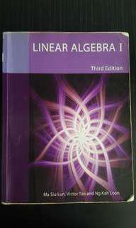 MA1101 Linear Algebra I #SpringCleanAndCarouSell50