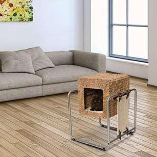 Vesper Cat Furniture V-Cube Banana Leaf