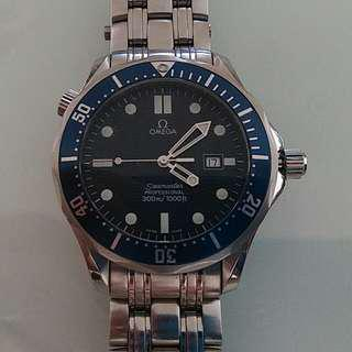 The Original First James Bond Omega Seamaster Full Size 41mm. No dings/nicks. Safety marker intact. Serial no is 5958XXXX.
