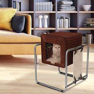 Vesper Cat Furniture V-Cube Rattan