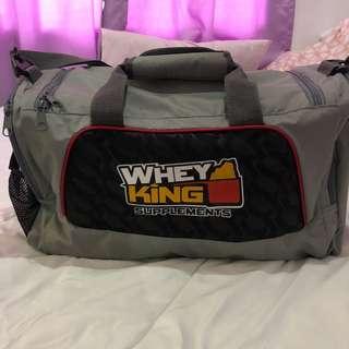 Gym Duffel Bag (Whey King)