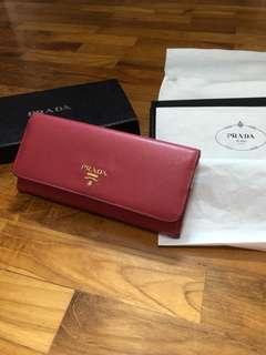 🚚 Prada Long Tricolour Wallet